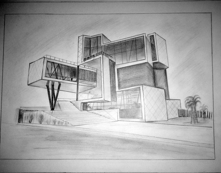 Modern Architecture Drawing 9 best architecture drawing images on pinterest | architects