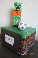 Voetbal Creeper (groot) / Minecraft Knutsels   Minecraft-site-info.jouwweb.nl