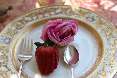 Romancing домашней: Розовый Стол для Spring завтрак