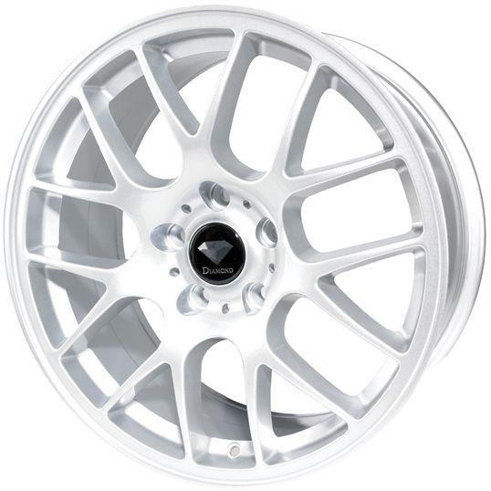 DIAMOND CLASSIC SILVER alloy wheels at http://www.turrifftyres.co.uk/alloywheels #alloy #wheels #rims #mag #cars #DIAMOND #CLASSIC #SILVER