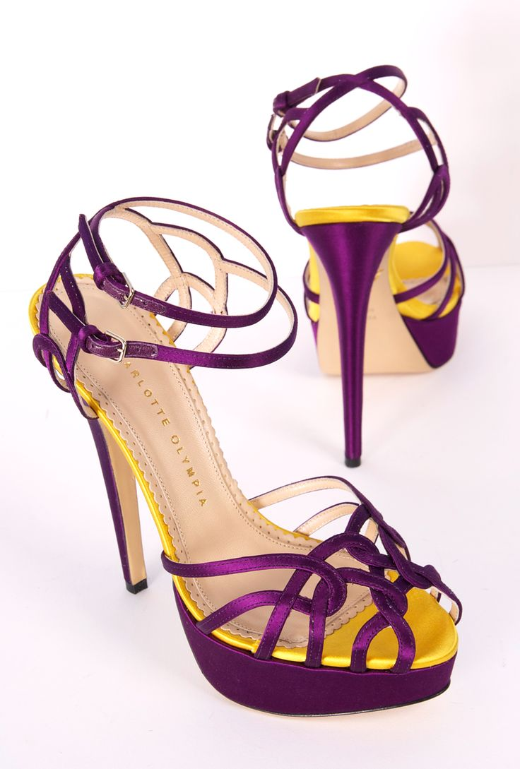 Cute Purple Heels