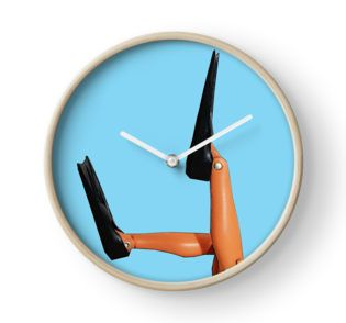 Scuba Diving Clock  #flippers #diving #snorkelling #watersports #sea #dive #scuba #diving #fins #swimming #holiday #swim #swimmer #fishing