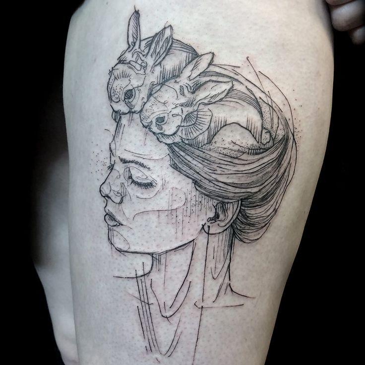 Tatouage watercolor nantes for Nantes tattoo convention 2017