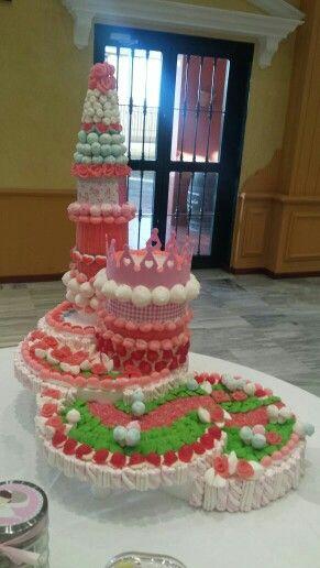 La mejor tarta del mundo. Vivan las chuches!!