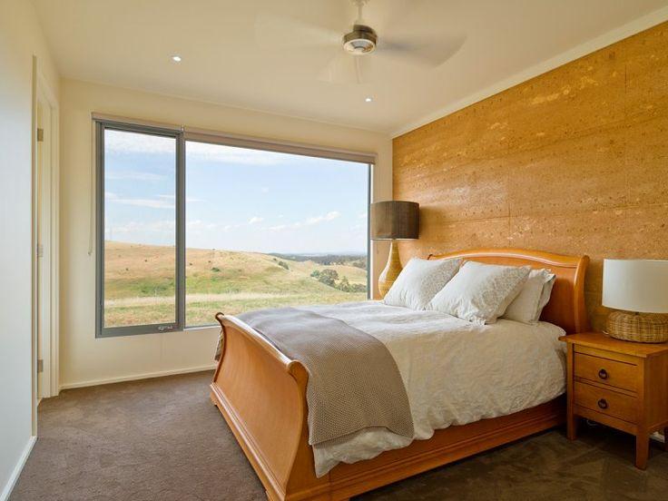 Internal Bedroom Rammed Earth Feature Wall | Rammed Earth Enterprises