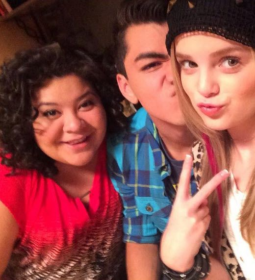Photo: Mia Diaz With Adam Irigoyen