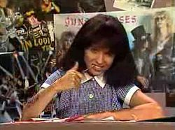 Mary-Anne Fahey (Kylie Mole) she goes, she goes, she just goes
