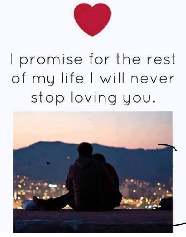 Yes! Ive never loved anyone the way i love you. Ive loved before but nothing this strong and even feeling imma love you forever abd KNOWING im safe to love you forever is even greater feeling . i love you babe. dmajr❤
