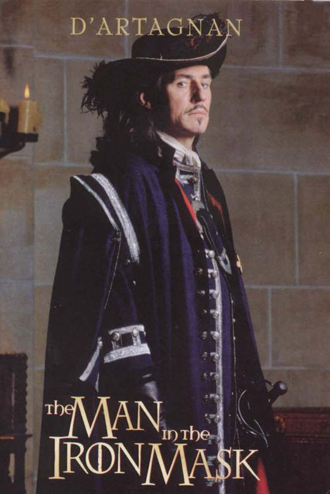 """Charles Artagnan (Gabriel Byrne) from- """"The Man in the Iron Mask"""" (1998)"""