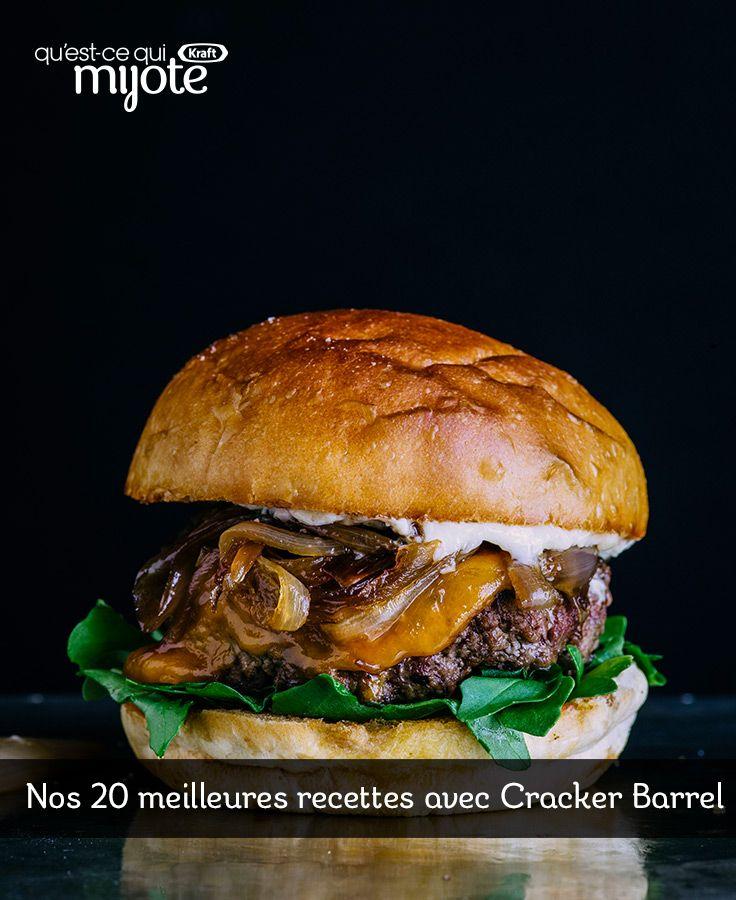 Nos 20 meilleures recettes avec Cracker Barrel #recette