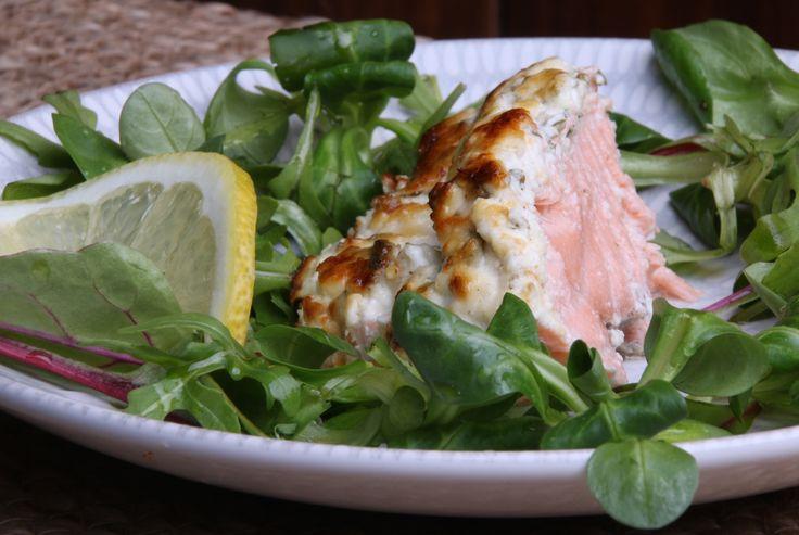 Ugnsbakad lax med fetaost - Uplifting - allt om god mat - recept, tips, restauranger, dryck