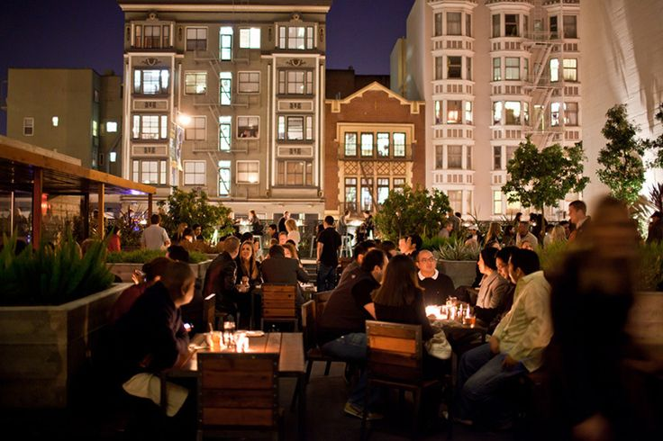 Discover San Francisco's best bars with a view at these outdoor drinking establishments. Watch a sunset or admire the skyline at these rooftop bars.