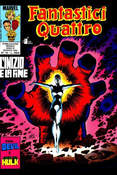 Cover for Fantastici Quattro (Edizioni Star Comics, 1988 series) #16