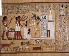 Laporan Penelitian: Kepunahan Ekosistem Di Dinding Kuburan Mesir Kuno