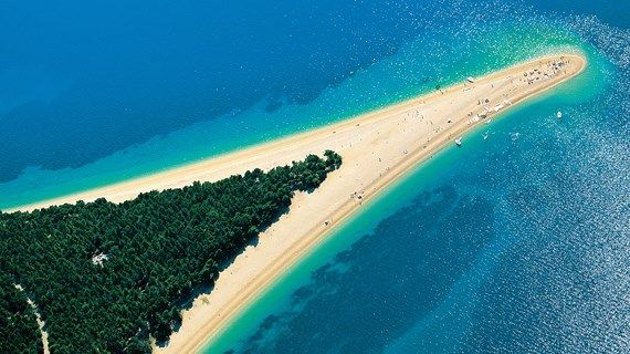 Zlatni Rat and Punta Rata selected among Best Beaches in Europe 2015