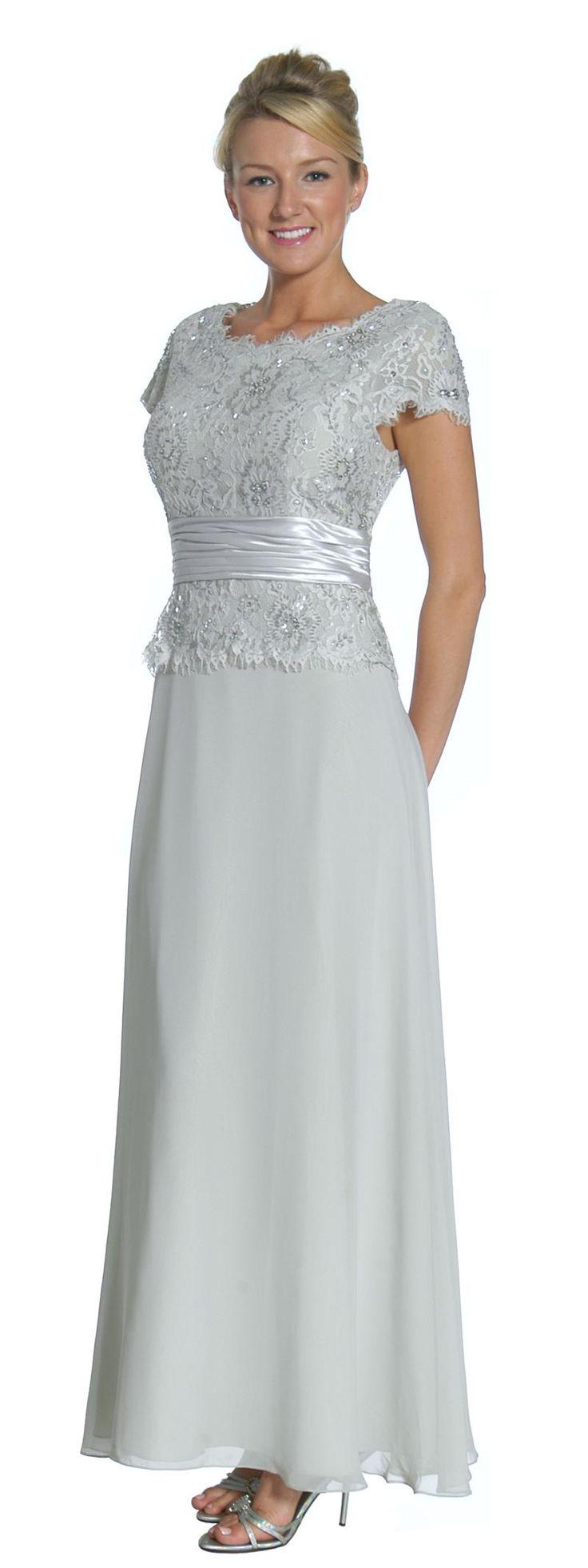 Vintage Lace Affordable Mother of the Bride/Groom Dress | Affordable Formal Dress | Bridalsassique