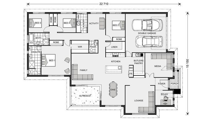Bedarra 280, Home Designs in Brisbane North & Bayside   G.J. Gardner Homes