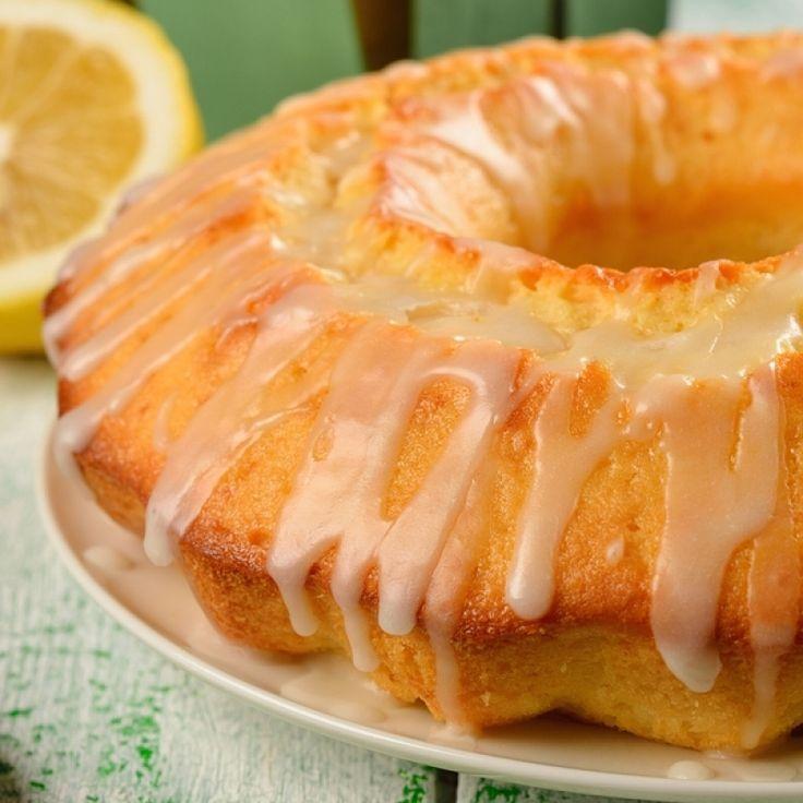 Glazed Lemon Bundt Cake Recipe from Grandmother's Kitchen