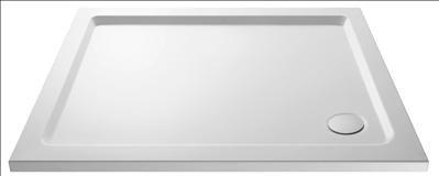 Hudson Reed PEARLSTONE RECTANGULAR SHOWER TRAY 1200 X 700 X 40 Finish Pearlstone