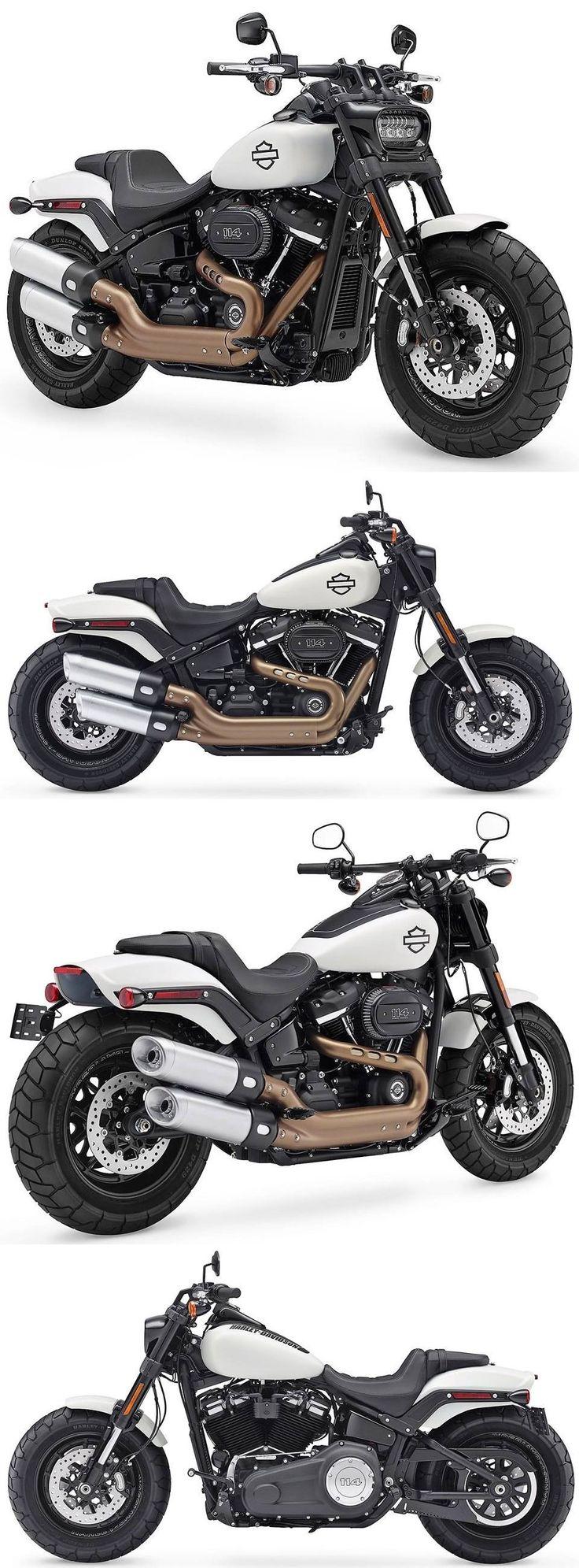 2018 Harley Davidson Fat Bob #harleydavidsonbikes