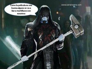 Ronan El Acusador, uno de los villanos de Los Guardianes de la Galaxia, comentado en Canal Osera