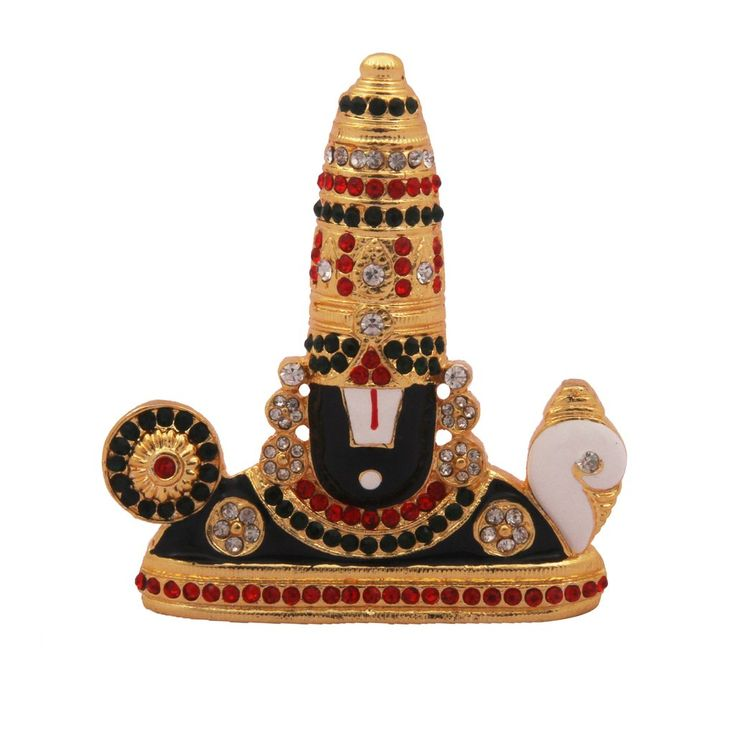 Gold Plated Lord Venkateshwara Showpiece