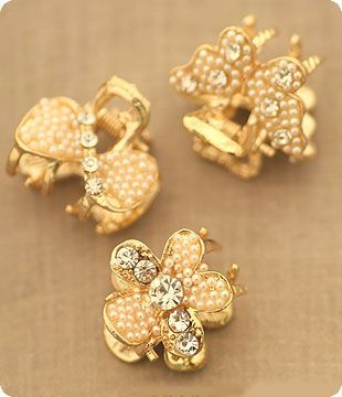 Diamond Butterfly,Bowknot,Flower Hair Claw