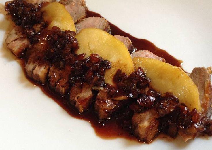 Filet de canard Miel et Balsamique aux Pommes