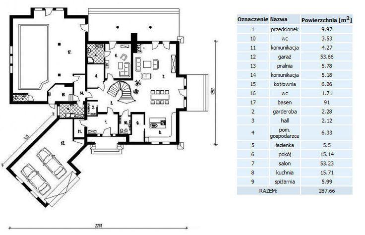 DOM.PL™ - Projekt domu PT Hidalgo SZKIELET DREWNIANY CE - DOM PT9-30 - gotowy projekt domu
