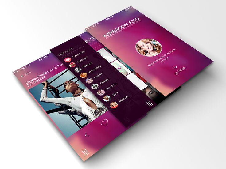 App design iOS7 concept by NaturalMedia.es