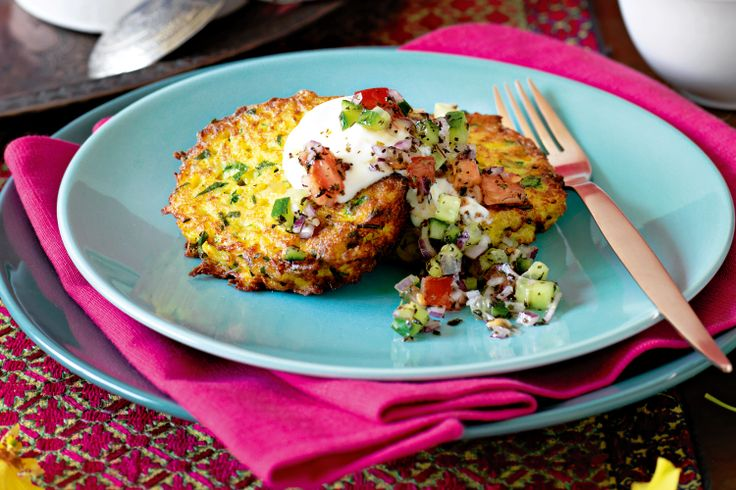 Entice your friends these herbed Persian potato cakes, full of spices and rich in colour.