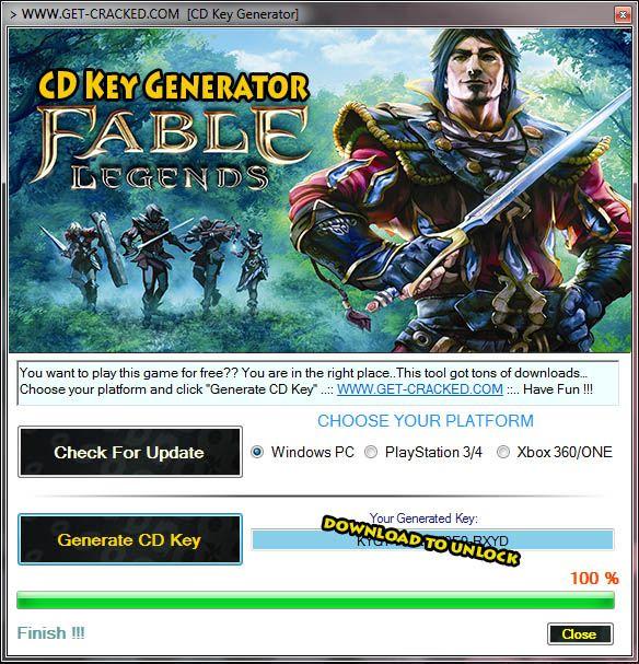 fable 3 serial key generator