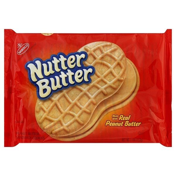 I'm disturbed that Nutter Butters are vegan and yet still very pleased. Same with cinnamon sugar pop tarts