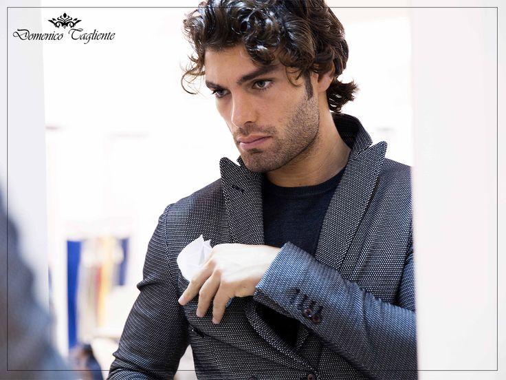 Lo sguardo fiero e la sicurezza nel curare ogni #dettaglio contraddistinguono da sempre l'uomo #domenicotagliente.  Attento al suo #stile e pronto a sfoggiarlo con decisione.   ---Domenico Tagliente Autumn/Winter 15-16---  #domenicotagliente #details #design #italianstyle #collection #moda #modauomo #menswear #style #fashion #TagsForLikes #glamour #study