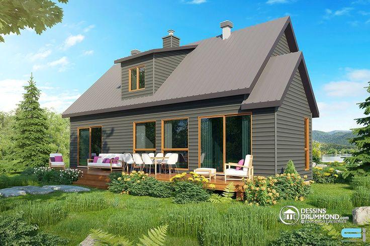 10 best Chalet images on Pinterest Black house exterior, Cottage