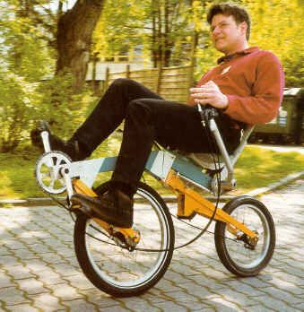 Rear Wheel Steered Bike