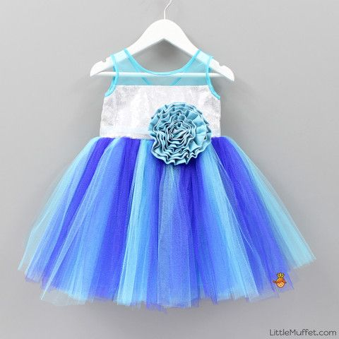 Frozen Dress -Infant, Toddler, Girls
