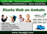 Diseño de Paginas web en Ambato - Akyanuncios.com - Publicidad con anuncios gratis en Ecuador
