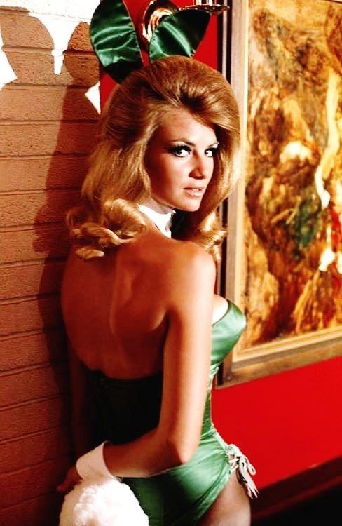 redheaded 1960s Playboy bunny