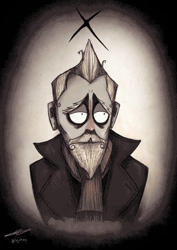 Tim Burtonesque Doctor Who Caricatures | Killer Kitsch