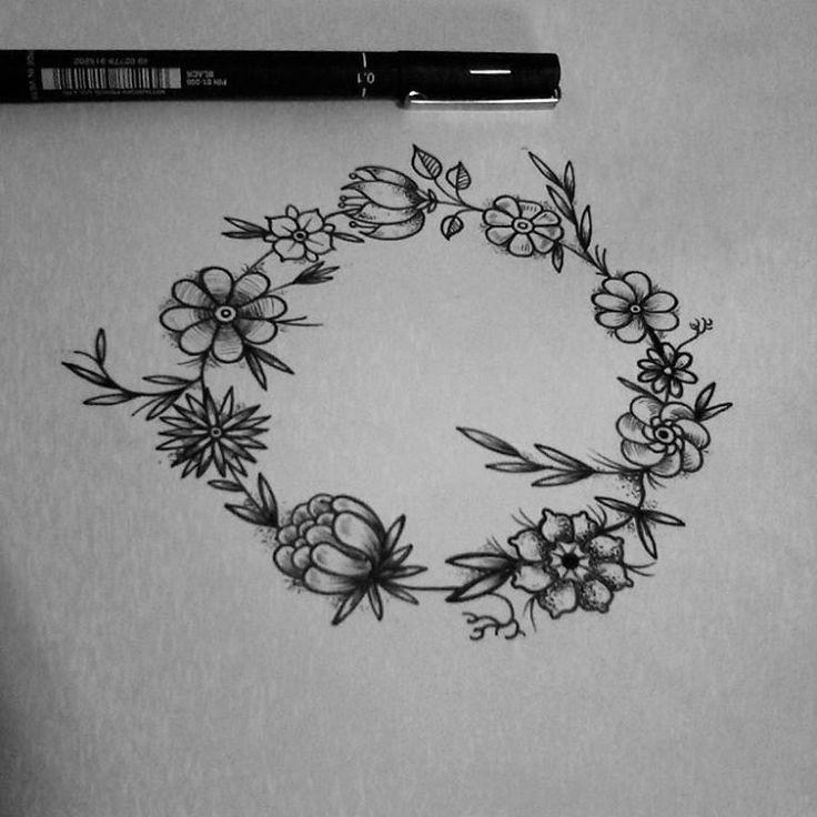 Floral disponivel para tatuar aqui no @fariastattoo ~ #tattoo #tatuaje #tatuagem #tat2 #blumenau #blumenautatto #familiafarias #fariastattoo #joaotat2s