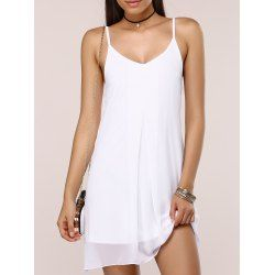 SHARE & Get it FREE   Stylish Women's Solid Color Chiffon Cami DressFor Fashion Lovers only:80,000+ Items • New Arrivals Daily • FREE SHIPPING Affordable Casual to Chic for Every Occasion Join RoseGal: Get YOUR $50 NOW!