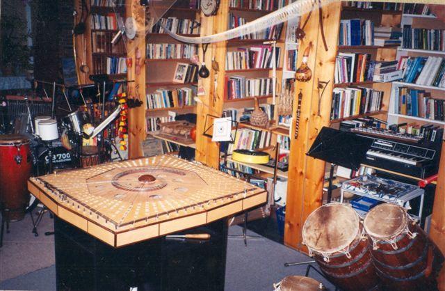 Celestial Harp at the Queen Street East Studio