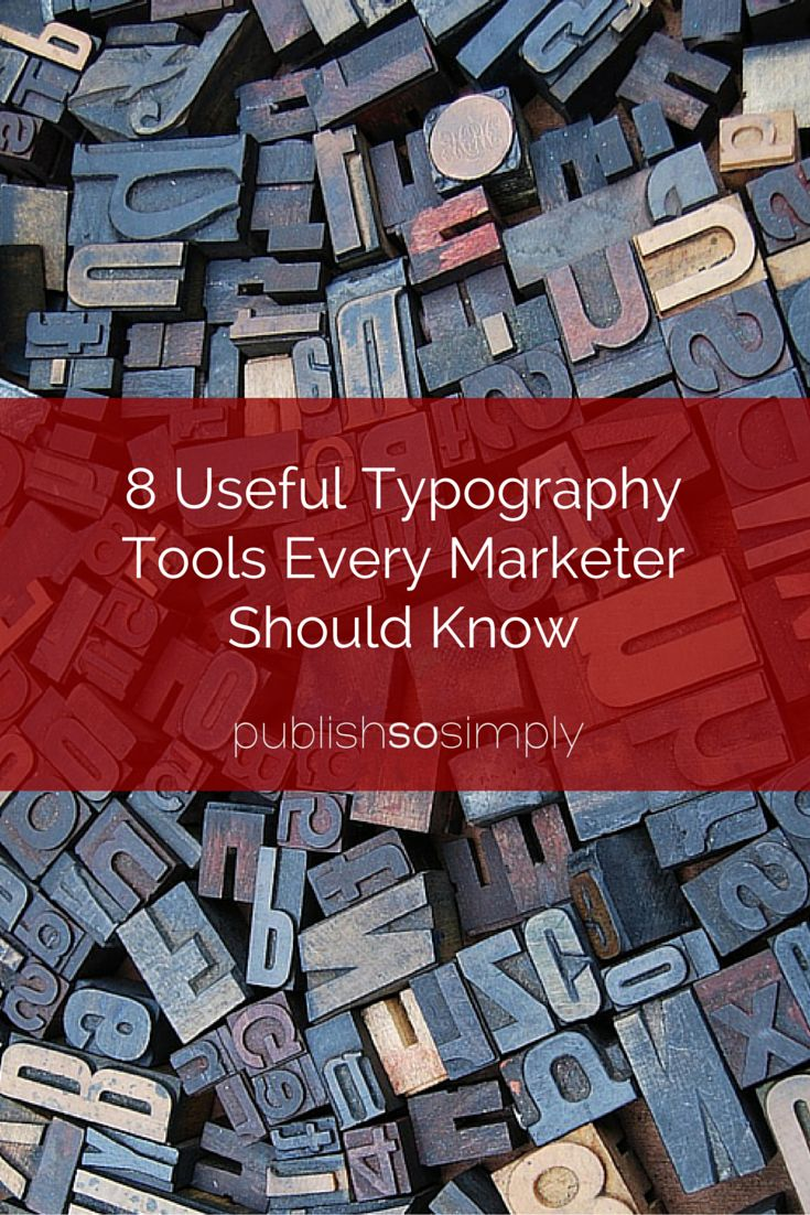 8 useful typography tools every marketer should know #design #font