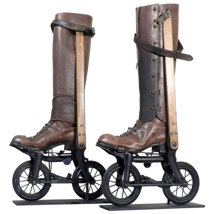 1898 Ritter Road-Skates, Super Rare | From a unique collection of antique and modern sports at https://www.1stdibs.com/furniture/more-furniture-collectibles/sports/