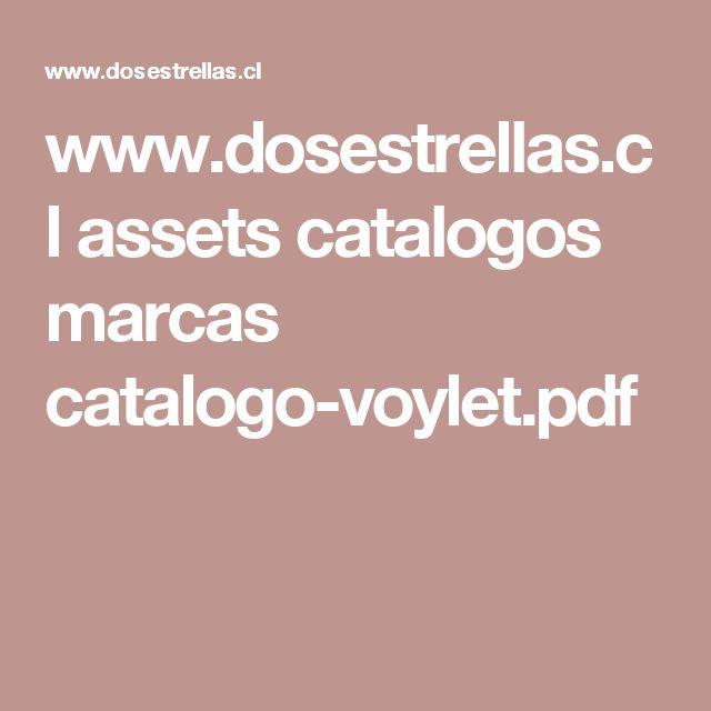 www.dosestrellas.cl assets catalogos marcas catalogo-voylet.pdf