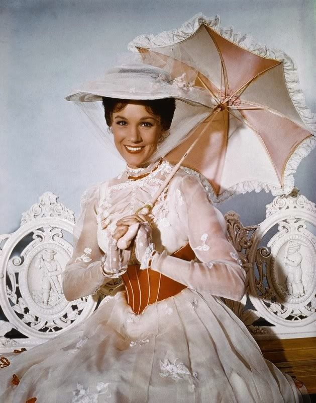 Julie Andrews, great photo of her!                                                                                                                                                     More