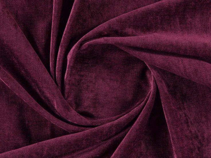 Tessuto a tinta unita lavabile in ciniglia EZRA by More Fabrics