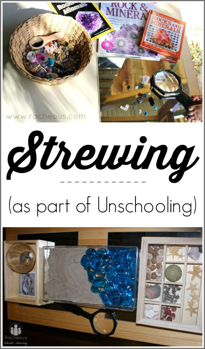 Strewing (as part of Unschooling) | The What, Why, and How!