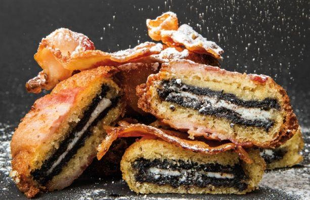 #RecetaGourmet: Bacon deep fried oreos